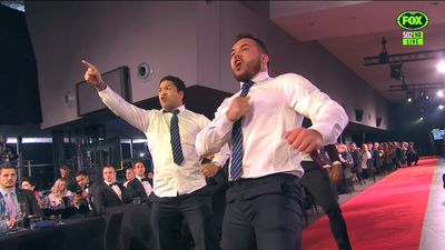 Haka steals the show at 2018 Dally M Awards