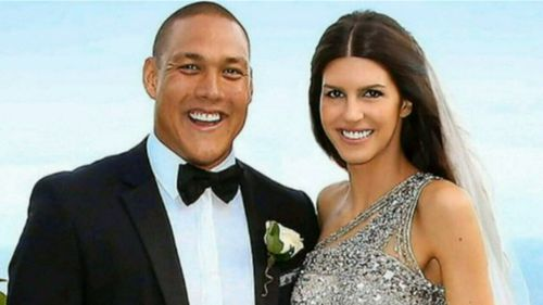 Swimming legend Geoff Huegill's wife Sara has been accused of ripping off small businesses around the country.
