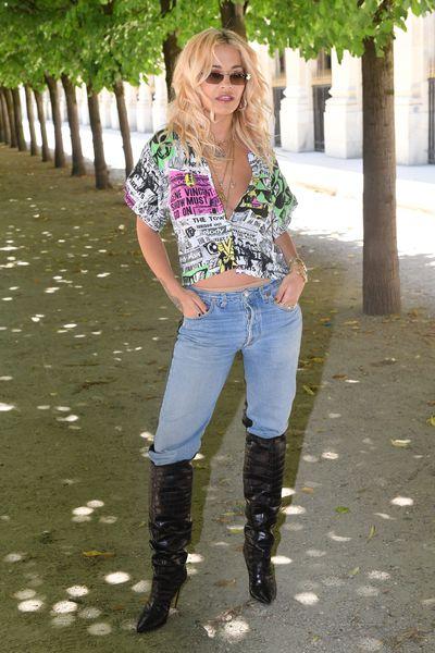 Rita Ora at Louis Vuitton Menswear Spring/Summer '19