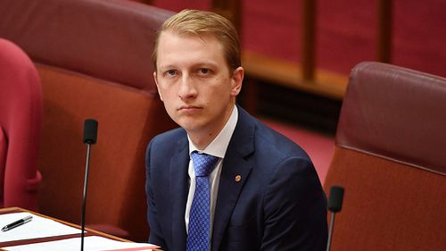Liberal senator James Paterson's drafted legislation include extreme exemptions. (AAP)