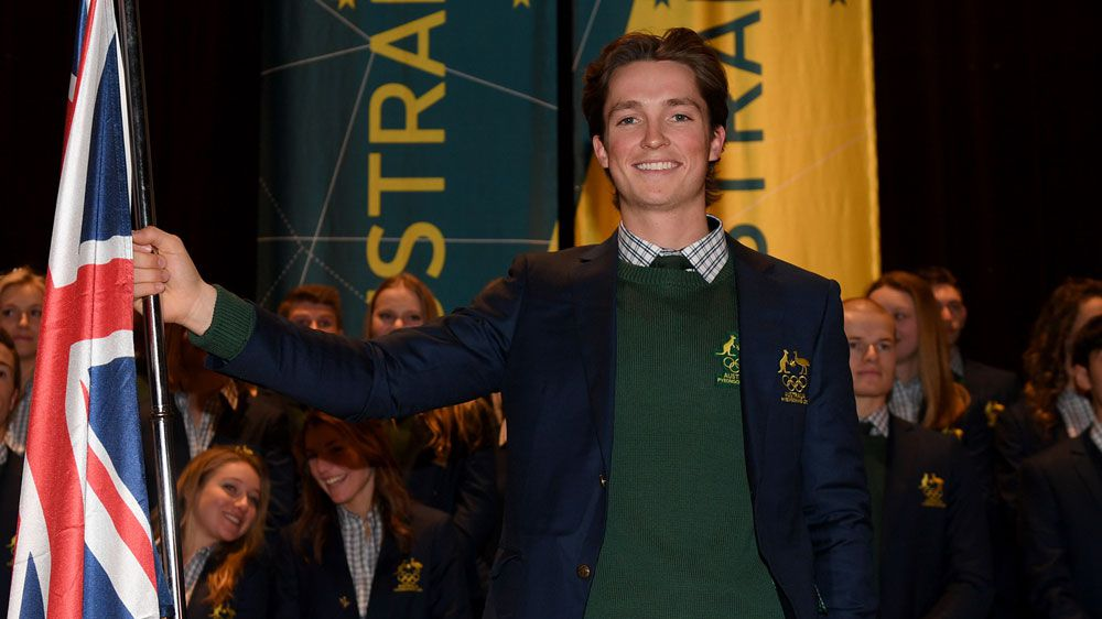 Scotty James announced as Australia's Olympic flag-bearer