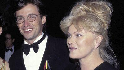 Hugh Jackman and Deborah Lee Furness: Then…