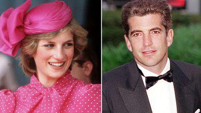 Princess Diana and John F Kennedy Jr