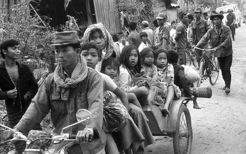 Cambodians desperately tried to flee the Khmer Rouge torture but 1.7 million were ultimately killed.