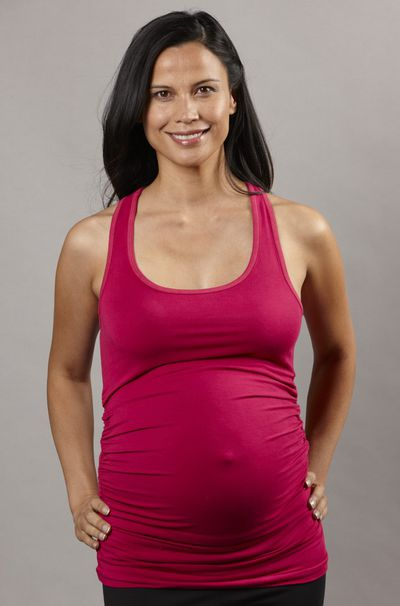 <strong>Pregfit Maternity Singlet Racerback Top</strong>