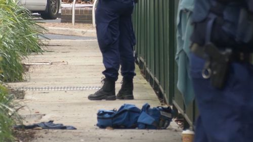 A man is fighting for life after a double stabbing in Chippendale.