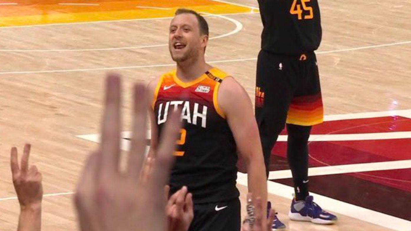 Joe Ingles 'makes Vegemite toast out of Clippers' as Utah Jazz beat LA Clippers