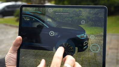 Customers can explore selected car models, without leaving their driveway.
