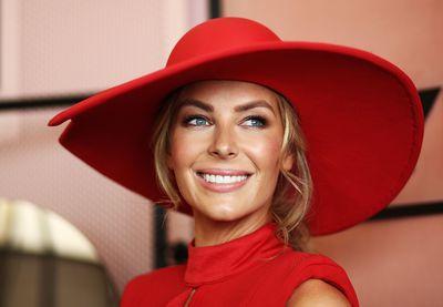 <p>7) Big brims </p> <p>Jennifer Hawkins in a Melissa Jackson hat.</p>