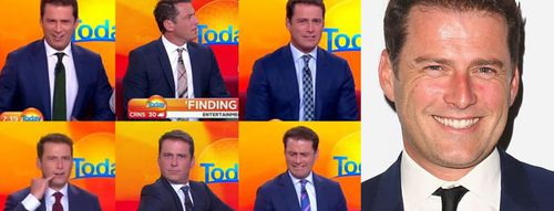 Going, going gone! The sale of Karl Stefanovic's 'stanky' suit, which he wore every day day for a year, has raised $10,000 for White Ribbon. (9NEWS)