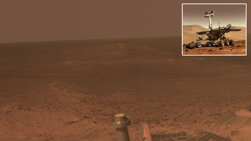 Plucky Mars rover celebrates 11 years of red planet exploration