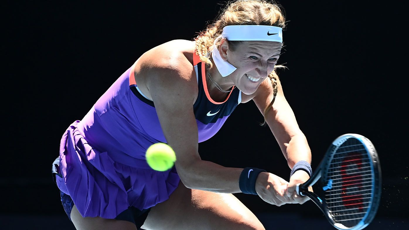 Victoria Azarenka gives bizarre response to reporter's question after Australian Open exit