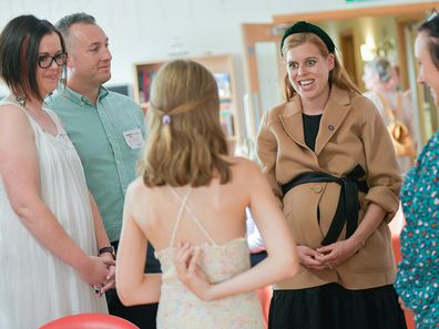 Princess Beatrice at Forget Me Not Children's Hospice garden party, September 2021