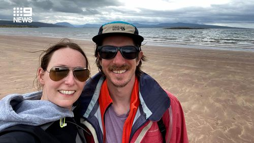 The 34-year-old was diagnosed with bowel cancer after a hike in Scotland.