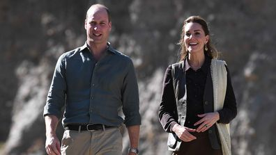 Prince William and Kate Middleton on the royal tour