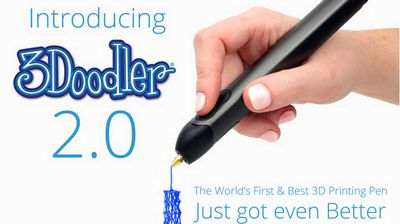 "<p><b>3D-printing pen that ""draws"" on thin air now even better </b></p><p> You wouldn't download a car. But would you draw one? </p><p> That slightly impractical fantasy is now closer to reality, thanks to the 3Doodler 2.0. The second iteration of the 3D-printing pen that lets you draw on air sees a lighter, more portable gizmo that heats and rapidly cools plastic to let you bring your ideas to life in three dimensions right in front of you. </p><p> </p>"