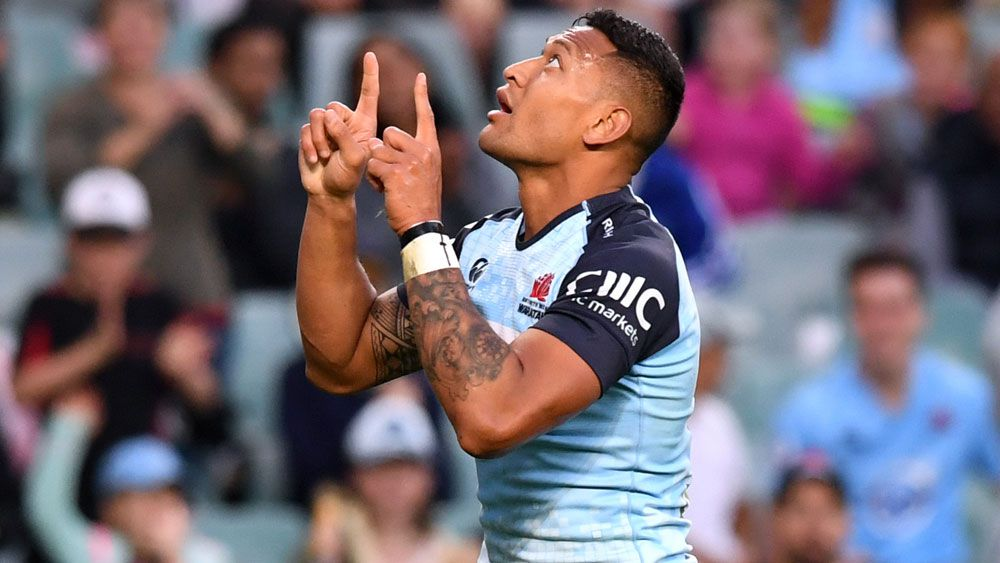 Wallabies star Israel Folau adresses tweet about his stance on marriage equality
