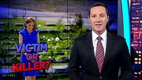 Victim or killer? Media coverage after the death of her husband.