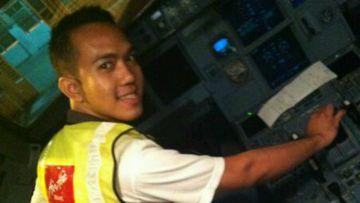 AirAsia crew member Oscar Desano. (Facebook)