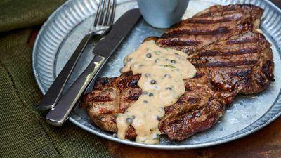"Recipe:<a href=""http://kitchen.nine.com.au/2017/10/05/16/12/big-marns-easy-steak-with-pepper-sauce"" target=""_top""> Big Marn's easy steak with pepper sauce</a>"