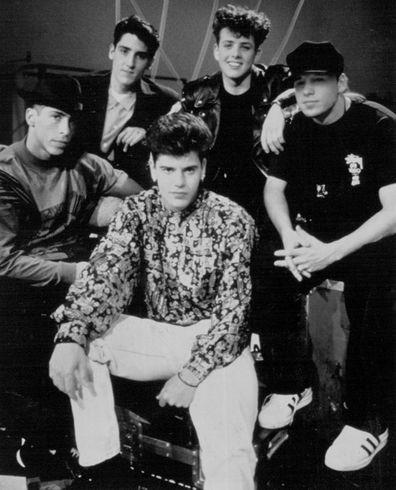 New Kids On The Block: Donnie Wahlberg. February 01, 1991.
