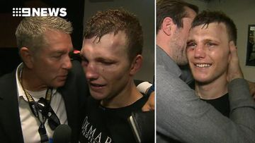 9RAW: Jeff Horn speaks with Cameron Williams after title win