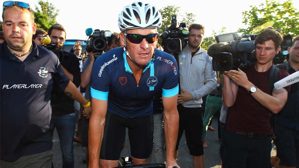 'Lance Armstrong is not welcome in our sport'