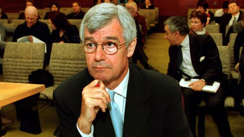 Julian Burnside in a 2001 file photo during the Tampa case.