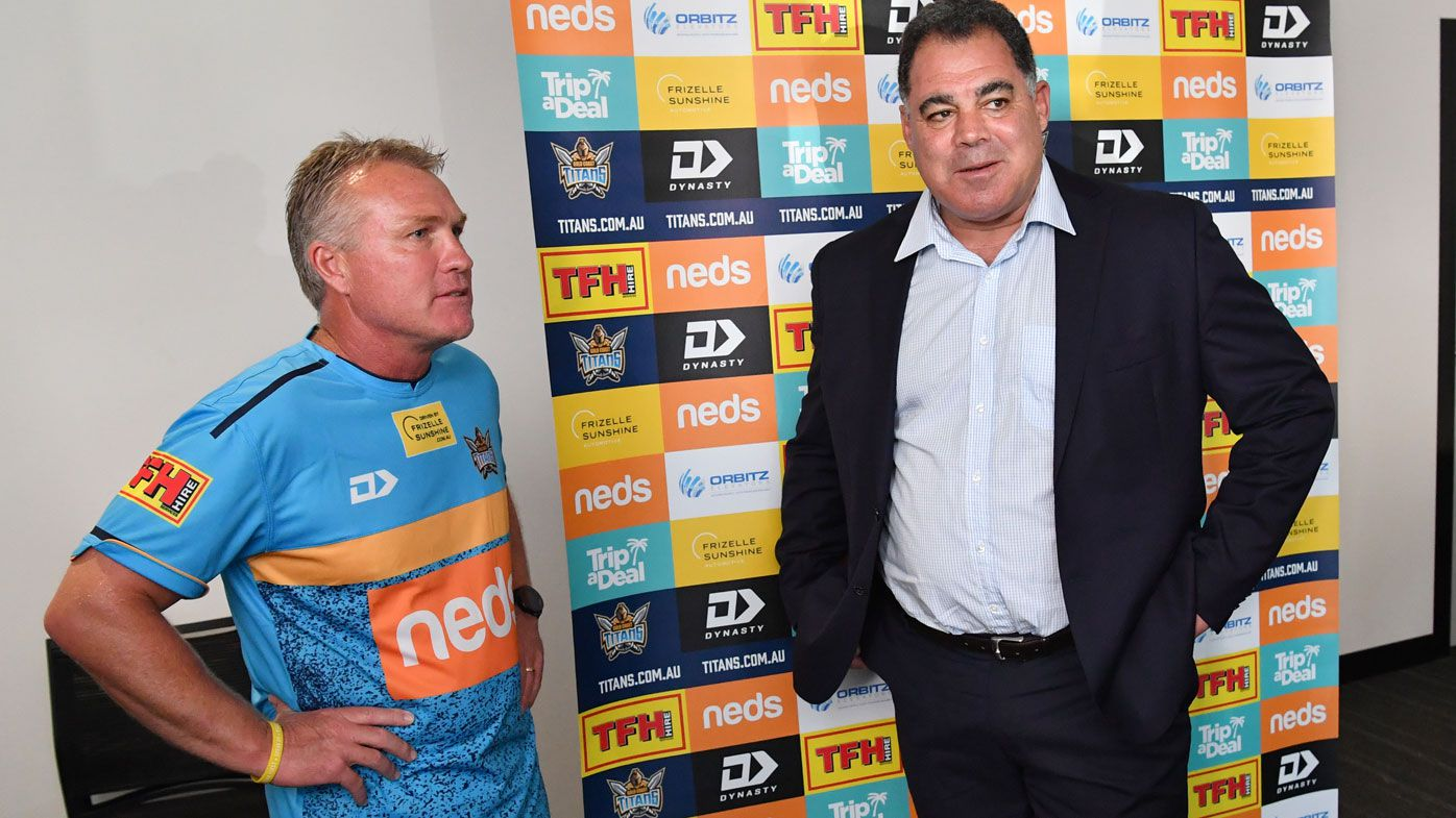Garth Brennan sacked as Gold Coast Titans coach after Mal Meninga's club review
