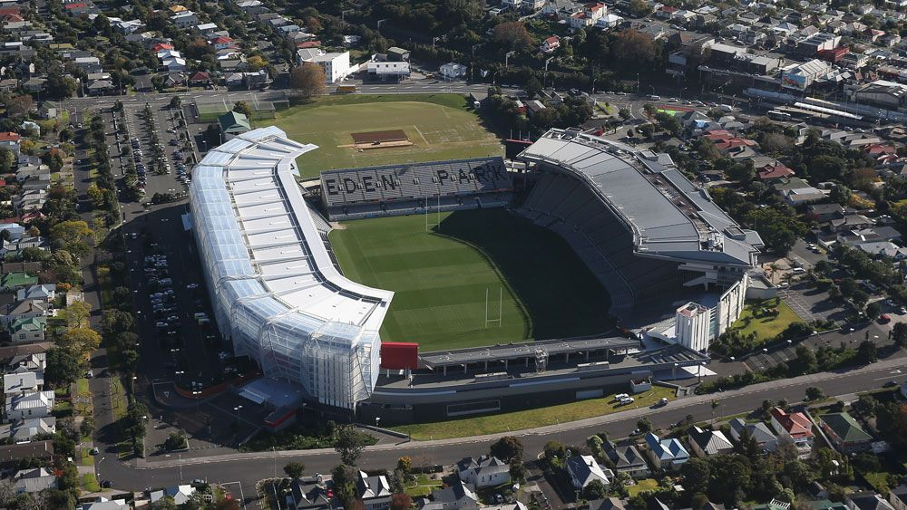 An aerial view of Eden Park in Auckland. (Getty)