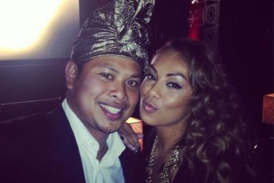 @missprinnie: Met this guy last night!!! #ketut from AAMI Ads! Love him! And he loves me! Soz not Soz Rhonda! Lmao