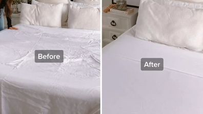 Woman shares genius 'no-ironing' hack for getting wrinkles out of your sheets
