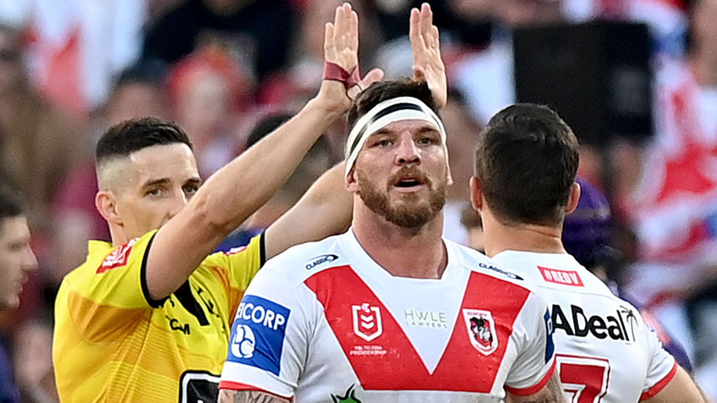 EXCLUSIVE: Brad Fittler slams NRL over foul play failure after Josh McGuire hip-drop