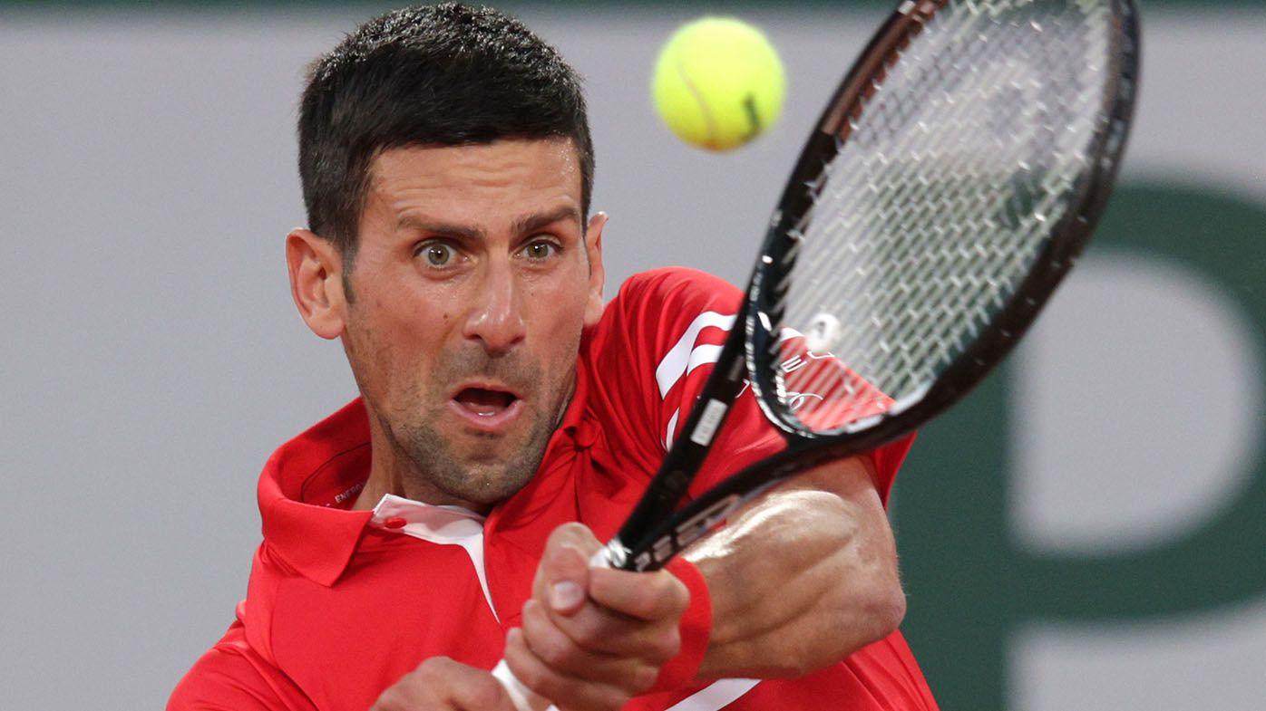 Novak Djokovic crushes Tennys Sandgren to reach second round at Roland Garros