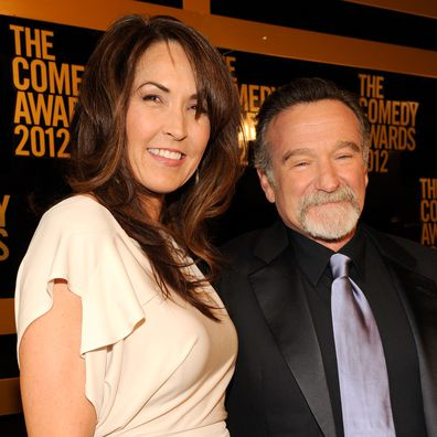 Robin William, Susan Schneider,  2012 The Comedy Awards, New York