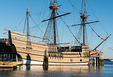 Daily Quiz: Where did the Mayflower's passengers disembark on November 21, 1620?