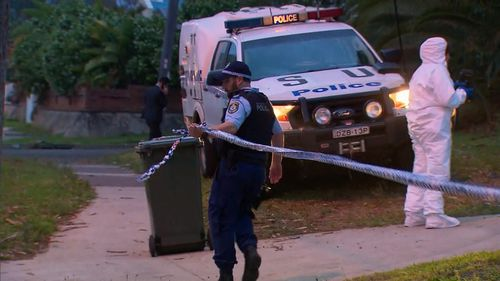 A woman has been stabbed at a home in Sydney's south.