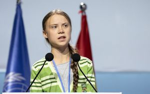 Greta Thunberg was slamming leaders over climate inaction while named Time's Person of the Year