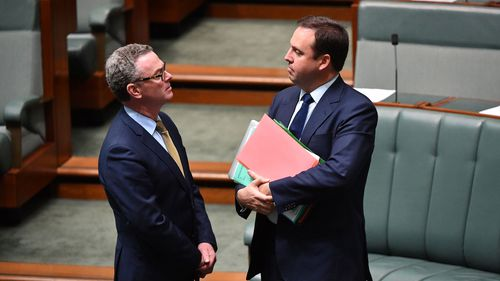 Christopher Pyne and Steve Ciobo are rumoured to be heading to the exits.