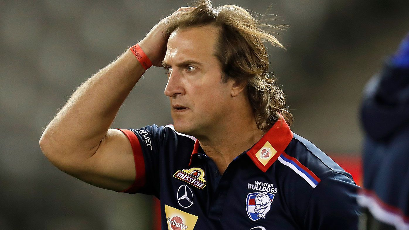 Luke Beveridge unleashes on medical sub, claims he was not involved in coaches meeting