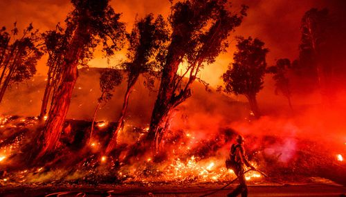 California has been beset by increasingly regular wildfires.