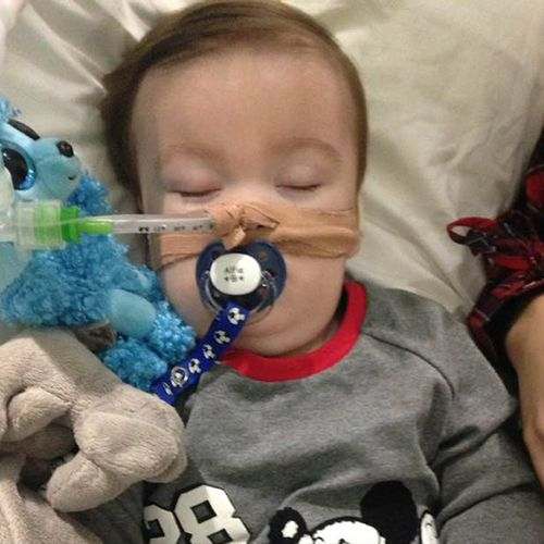 Alfie Evans, aged 22 months, will be moved into palliative care against his parents' wishes. (AAP)