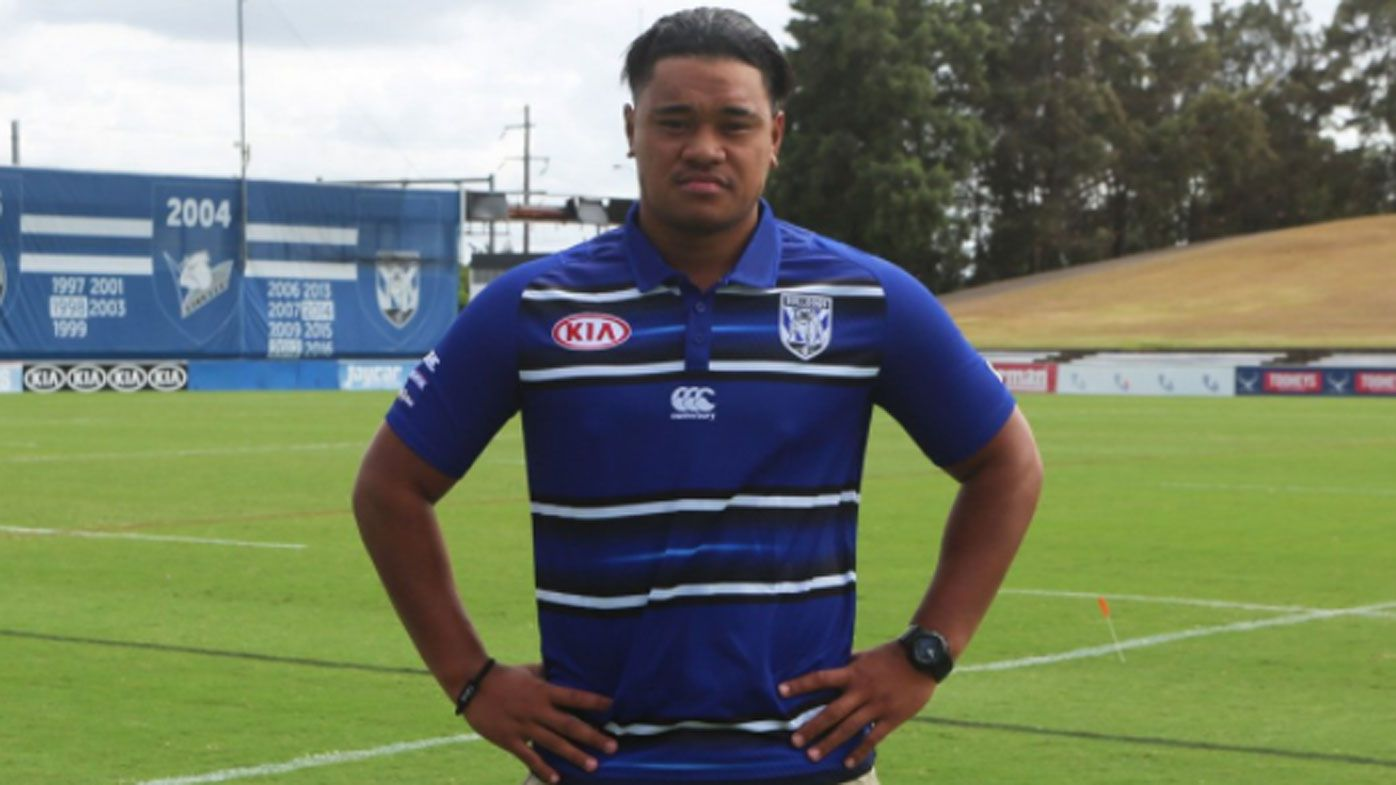 NRL: Canterbury Bulldogs release Moses Suli one month after his shock switch from Wests Tigers
