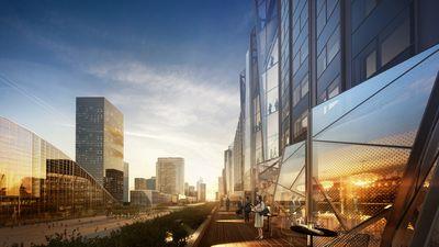 Hudson Yards Masterplan / Kohn Pedersen Fox, New York.