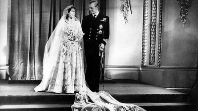 Prince Philip weds Queen Elizabeth, 1947