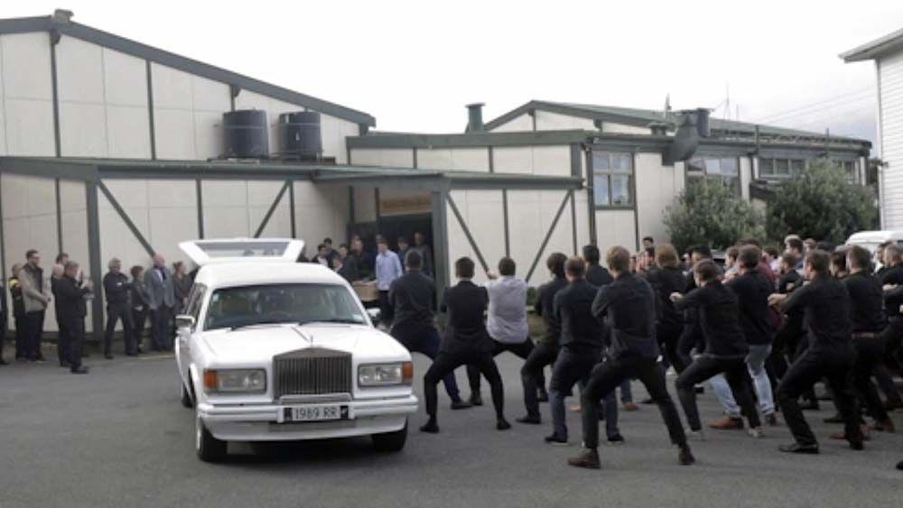 Haka funeral