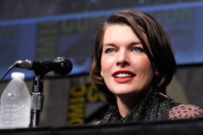 No geek convention is quite complete without Milla Jovovich making an appearance.
