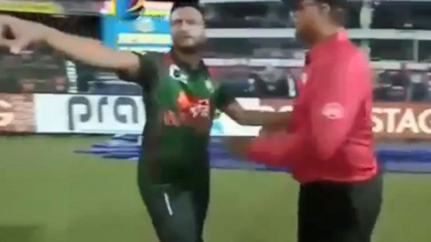 Bangladesh pair Shakib Al Hasan and Nurul Hasan fined after T20 misconduct