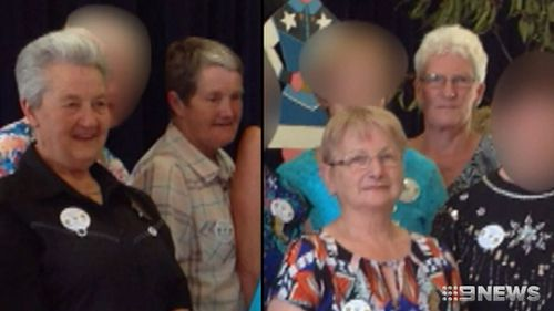 It's alleged she was travelling nine kilometres over the speed limit when her vehicle collided with a car carrying grandmothers Elaine Middleton, Dianne Barr, Claudia Jackson, and Margaret Ely.