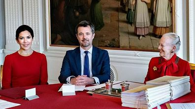 2 Princess Mary Prince Frederik Queen Margrethe